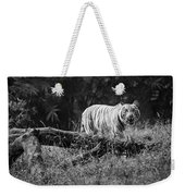 Big Cat In The Woods Weekender Tote Bag