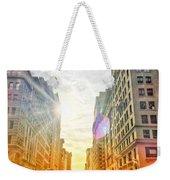 Big City, Bigger Life Weekender Tote Bag