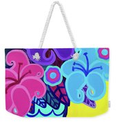 Big Colorful Lillies Weekender Tote Bag