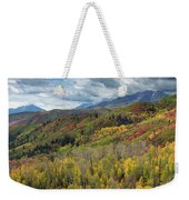 Big Cottonwood Canyon Fall Colors Weekender Tote Bag