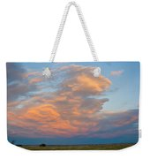 Big Country Sunset Sky Weekender Tote Bag