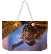 Big Eared Bat At Sunrise Weekender Tote Bag