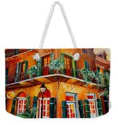 Big Easy Sunset Weekender Tote Bag