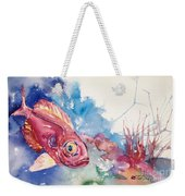 Big Eye Squirrelfish Weekender Tote Bag