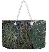 Big Fluffy Cactus Weekender Tote Bag