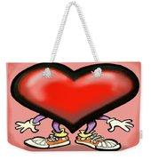 Big Heart Weekender Tote Bag