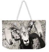 Big Horn Ram Bandw 5 Weekender Tote Bag