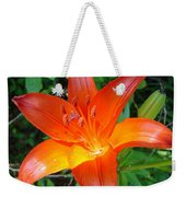 Big Orange Weekender Tote Bag