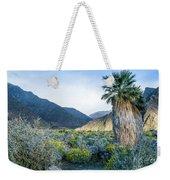 Big Palm Weekender Tote Bag