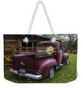 Big Red Ford Truck Weekender Tote Bag