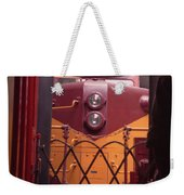 Big Red Weekender Tote Bag