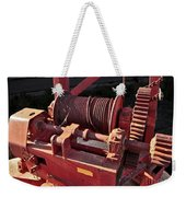 Big Red Winch Weekender Tote Bag