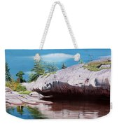 Big River Rock Weekender Tote Bag