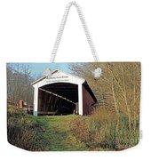 Big Rocky Fork Bridge Indiana Weekender Tote Bag