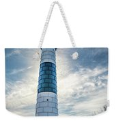 Big Sable Light On Lake Michigan Weekender Tote Bag