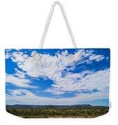 Big Sky In Pecos Valley Weekender Tote Bag