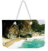 Big Sur Waterfall Weekender Tote Bag