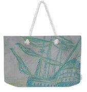 Big Tall Sail Weekender Tote Bag