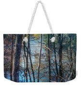 Big Thicket Water Reflection Weekender Tote Bag