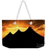 Big Top Sunset Weekender Tote Bag