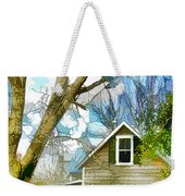 Big Tree Standing Tall In The Front Yard Weekender Tote Bag