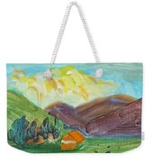 Big Valley Weekender Tote Bag by Steve Jorde