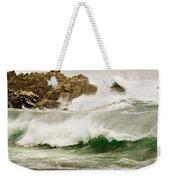 Big Waves Comin In Weekender Tote Bag