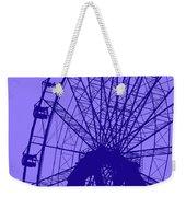 Big Wheel Blue Weekender Tote Bag