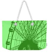 Big Wheel Green Weekender Tote Bag