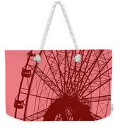 Big Wheel Red Weekender Tote Bag