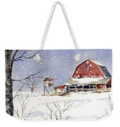 Big White Horse Weekender Tote Bag