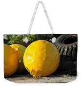 Big Yellow Balls Weekender Tote Bag