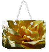 Big Yellow Rose Weekender Tote Bag