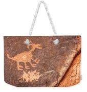 Bighorn Petroglyph Weekender Tote Bag