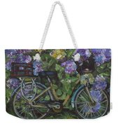 Bike And Bush Weekender Tote Bag