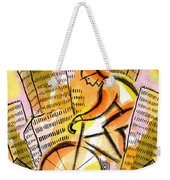 Bike And The City Weekender Tote Bag