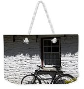 Bike At The Window County Clare Ireland Weekender Tote Bag