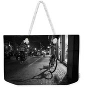 Bike Between Lights And Shadows, Netherlands Weekender Tote Bag