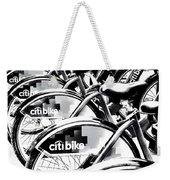 Bike Fleet Weekender Tote Bag