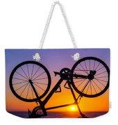 Bike On Seawall Weekender Tote Bag