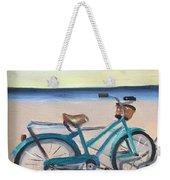 Bike Path Weekender Tote Bag