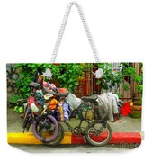Bike Repair Shop On Wheels Weekender Tote Bag