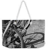 Bike Shadow Weekender Tote Bag