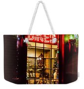 Bike Shop Window Weekender Tote Bag