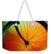 Bike Silhouette Weekender Tote Bag