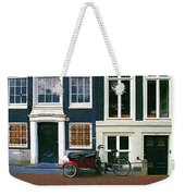 Bike With The Red Fenders Weekender Tote Bag