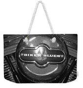 Biker Blues Weekender Tote Bag