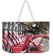 Bikes For Rent Weekender Tote Bag