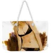Bikini Beauty Weekender Tote Bag