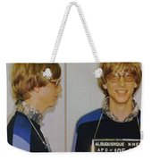 Bill Gates Mug Shot Horizontal Color Weekender Tote Bag